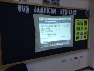 Exploring UDL with Jamaican colleagues